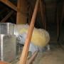 Deteriorated HVAC duct
