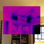 Missing insulation found with infrared imaging